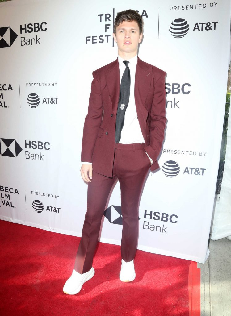 Ansel Elgort at Jonathan Premiere During the Tribeca Film Festival in New York-1