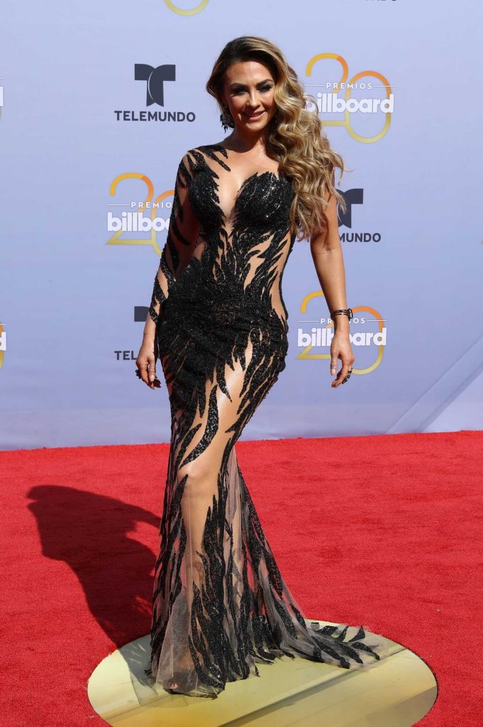 Aracely Arambula at 2018 Billboard Latin Music Awards in Las Vegas-1