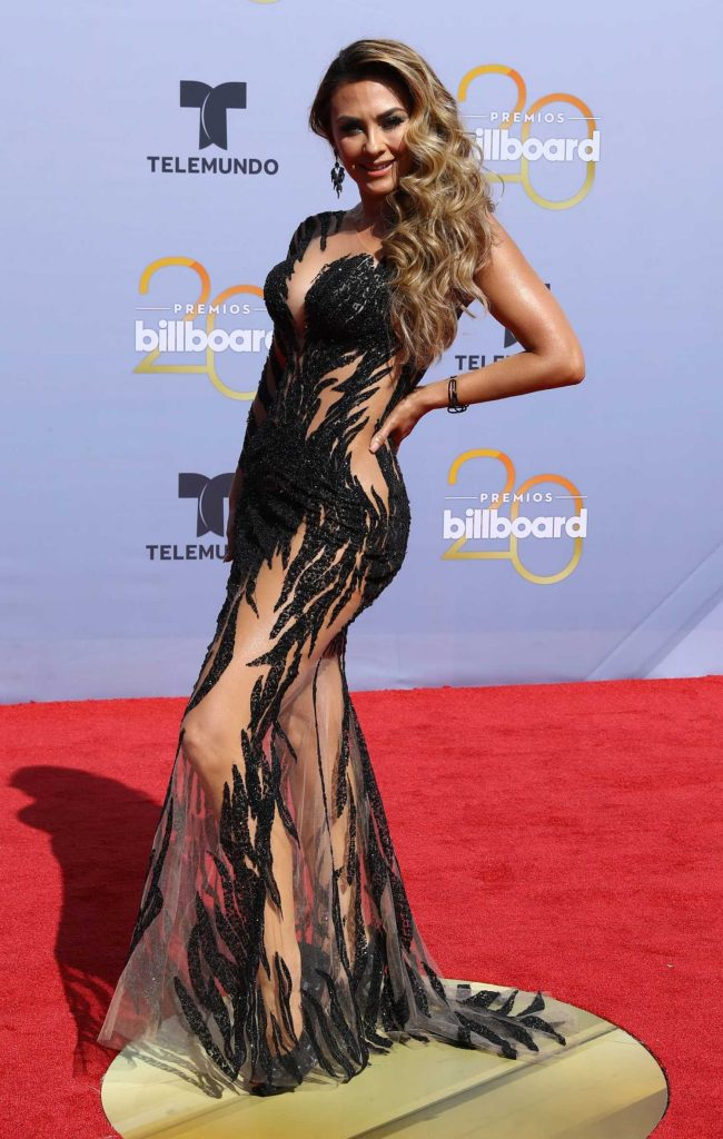 Aracely Arambula at 2018 Billboard Latin Music Awards in Las Vegas-2