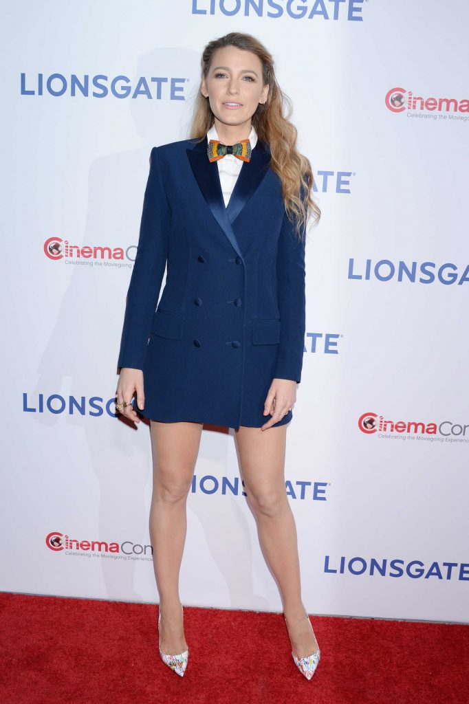 Blake Lively at the Lionsgate Presentation During the CinemaCon in Las Vegas-2