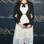 Christina Hendricks at the Brooks Brothers Bicentennial Celebration in New York
