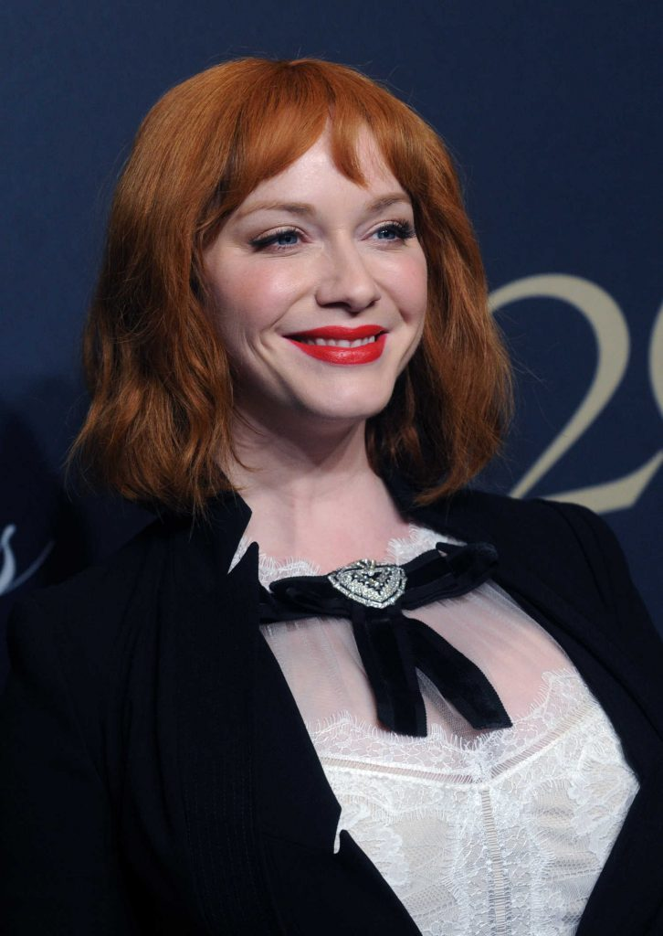 Christina Hendricks at the Brooks Brothers Bicentennial Celebration in New York-2