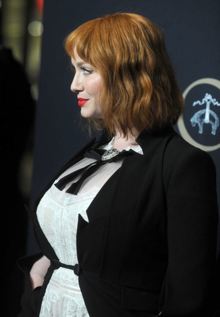 Christina Hendricks at the Brooks Brothers Bicentennial Celebration in New York-3