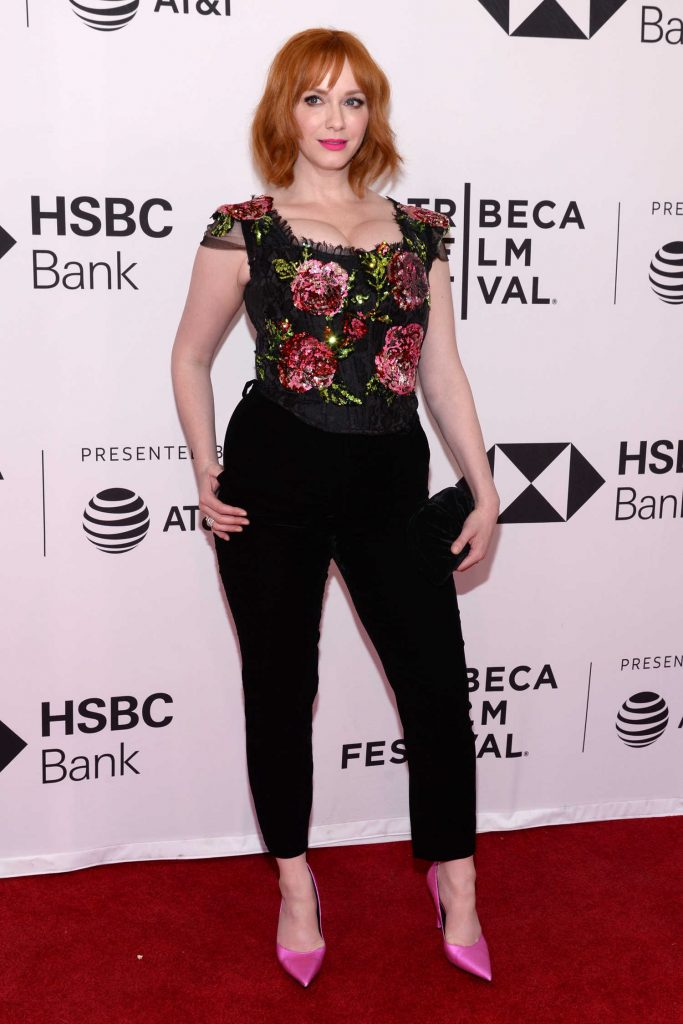 Christina Hendricks at the Egg Screening During the Tribeca Film Festival in New York-2
