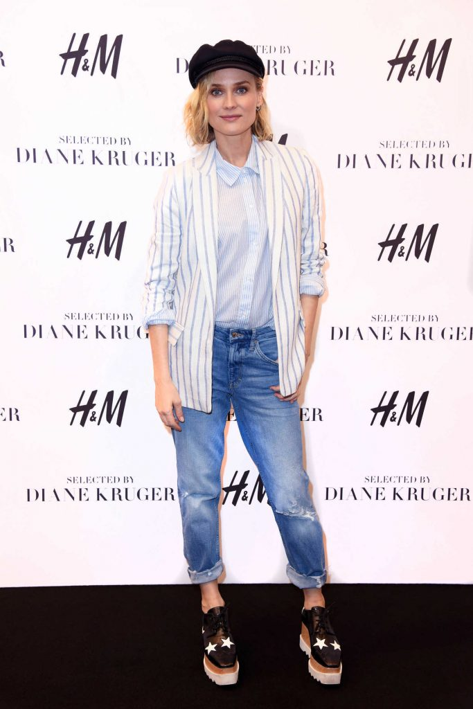 Diane Kruger Attends the Launch of Her Collection Summer Essentials Selected by Diane Kruger in Berlin-1