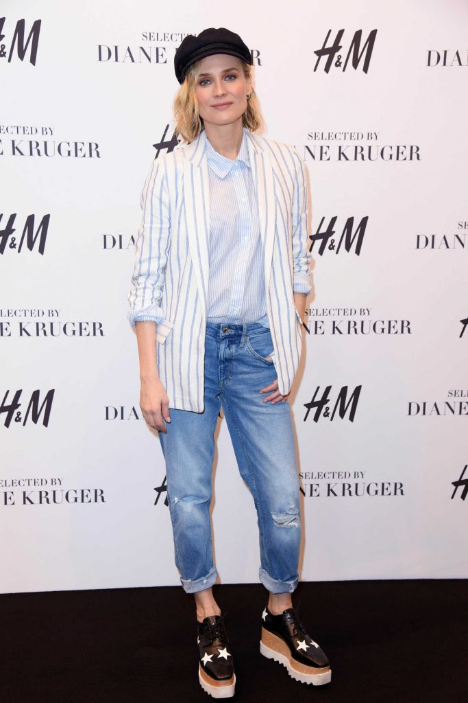 Diane Kruger Attends the Launch of Her Collection Summer Essentials Selected by Diane Kruger in Berlin-2