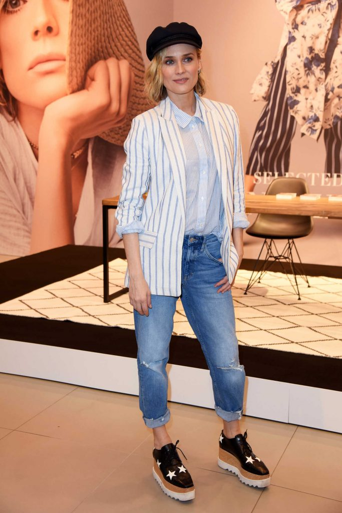 Diane Kruger Attends the Launch of Her Collection Summer Essentials Selected by Diane Kruger in Berlin-3