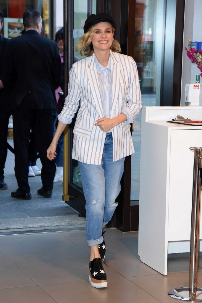 Diane Kruger Attends the Launch of Her Collection Summer Essentials Selected by Diane Kruger in Berlin-4