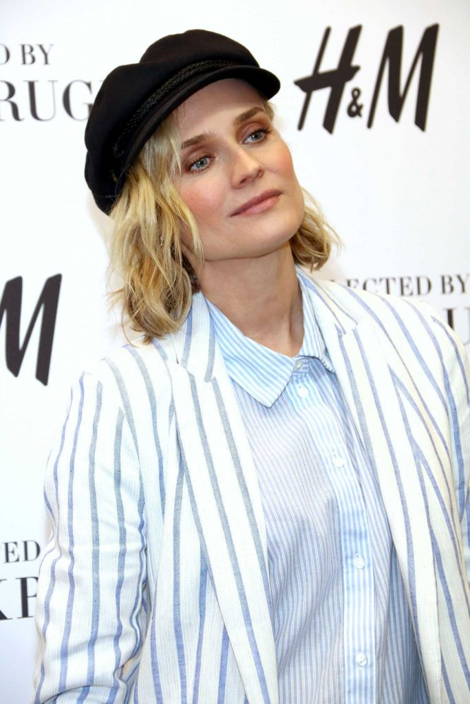 Diane Kruger Attends the Launch of Her Collection Summer Essentials Selected by Diane Kruger in Berlin-5