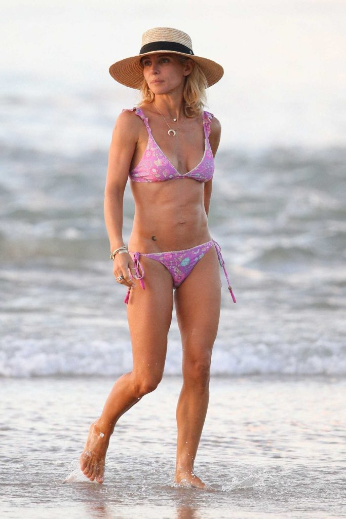 Elsa Pataky in Bikini on the beach in Byron Bay, Australia-3