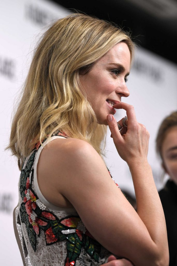 Emily Blunt at A Quiet Place Screening in London-4