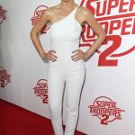 Emmanuelle Chriqui at the Super Troopers 2 Premiere at The Arclight in Hollywood