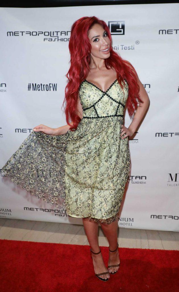 Farrah Abraham Attends the Metropolitan Fashion Week in LA 03/29/2018-2