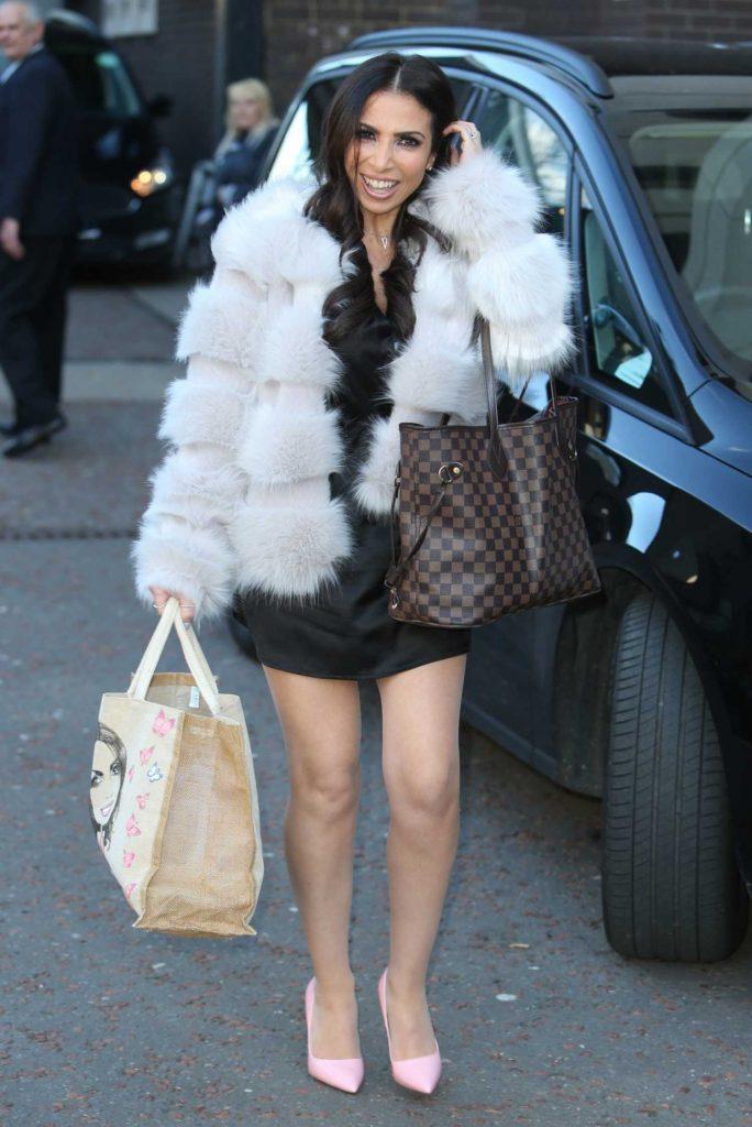 Francine Lewis Leaves ITV Studios in London-2