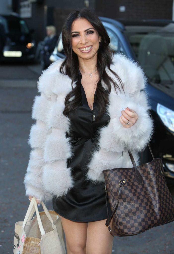 Francine Lewis Leaves ITV Studios in London-4