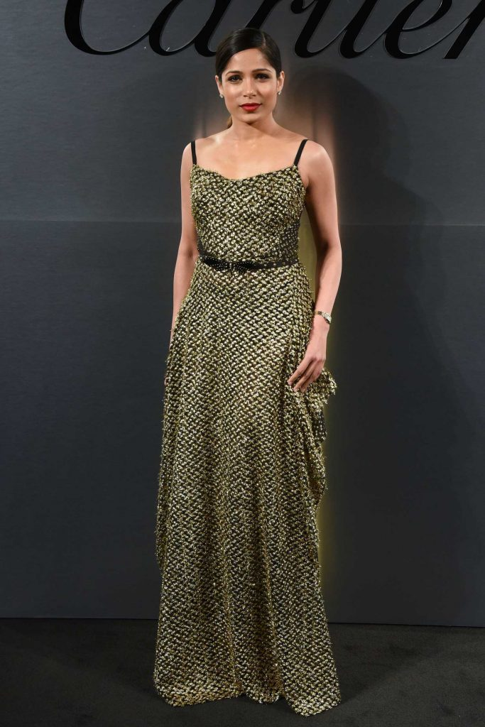 Freida Pinto at the Cartier's Bold and Fearless Celebration in San Francisco-1