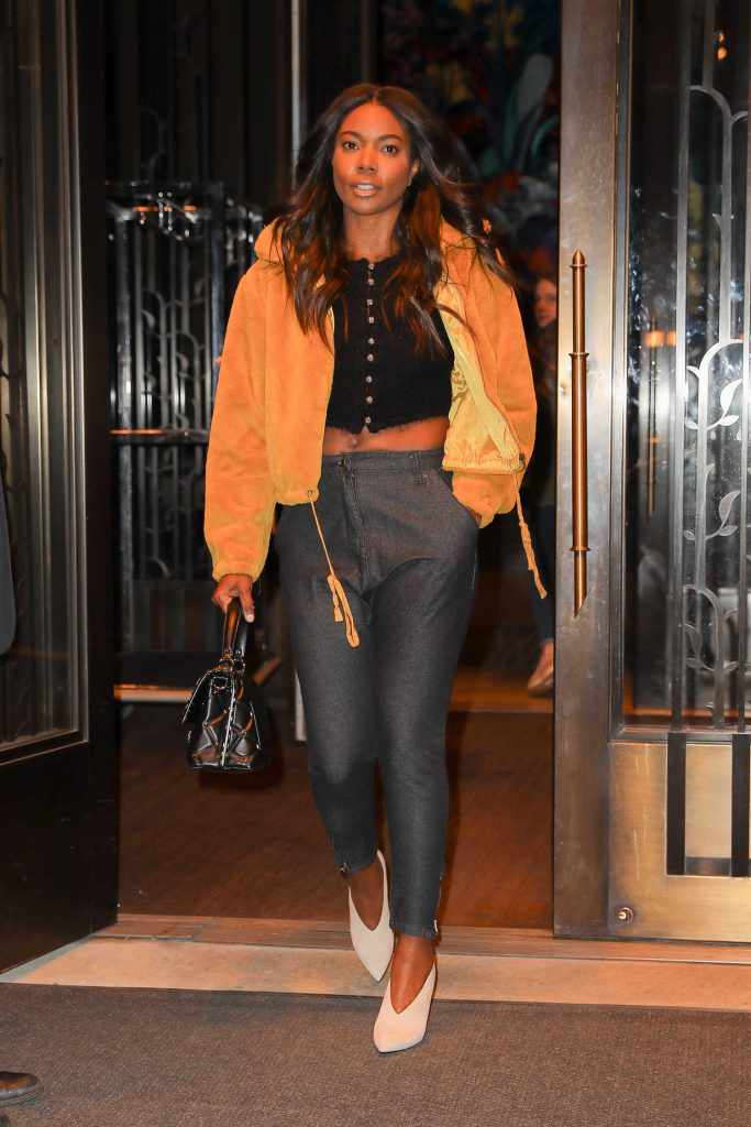 Gabrielle Union Leaves Her Hotel in New York City-1