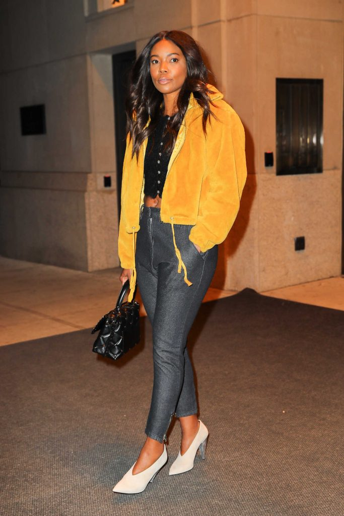 Gabrielle Union Leaves Her Hotel in New York City-3
