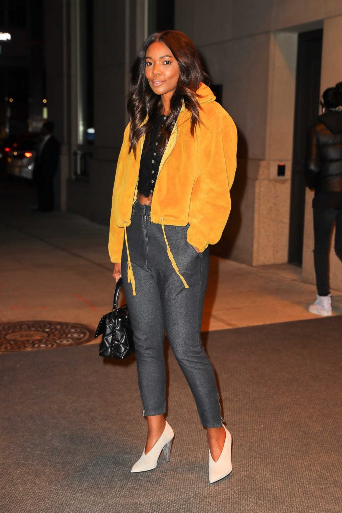 Gabrielle Union Leaves Her Hotel in New York City-4