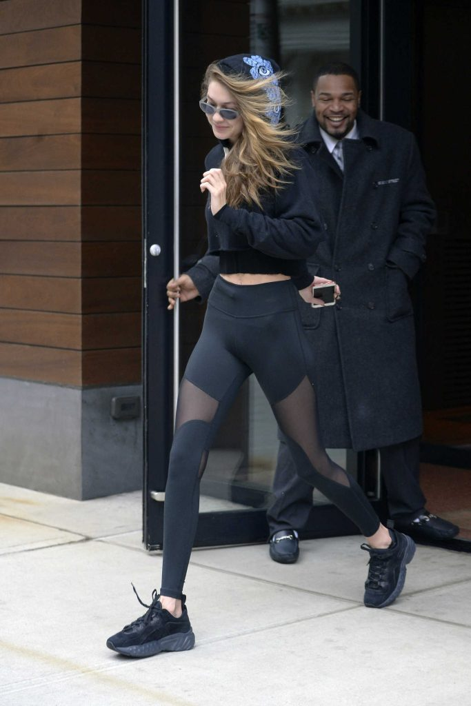 Gigi Hadid Leaves the MILK Studios in New York City-2