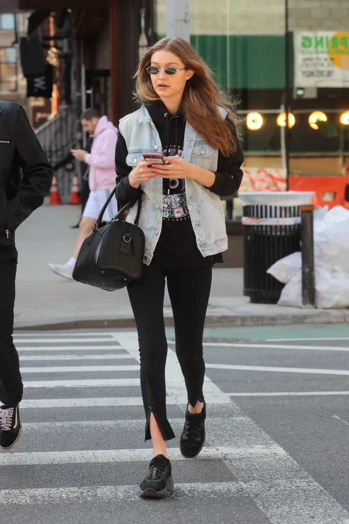 Gigi Hadid Was Spotted Out in NYC-1