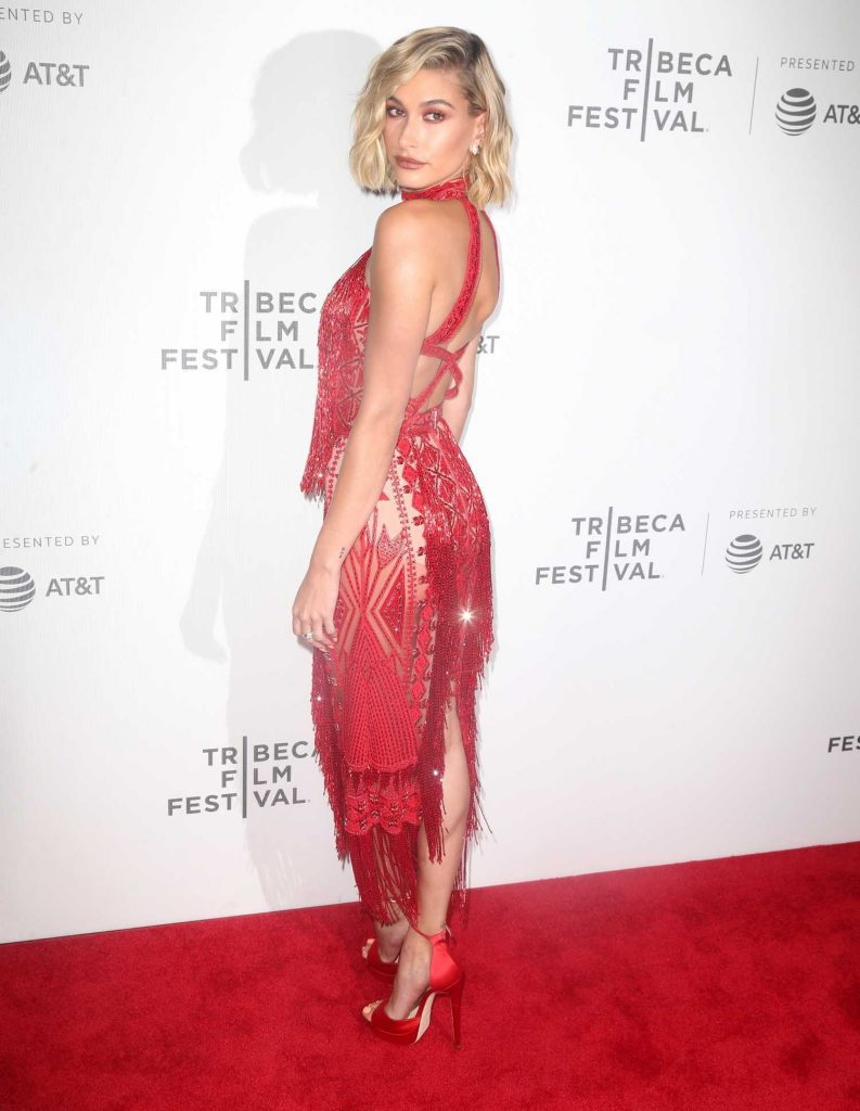 Hailey Baldwin at The American Meme Premiere During the Tribeca Film Festival in New York City-3