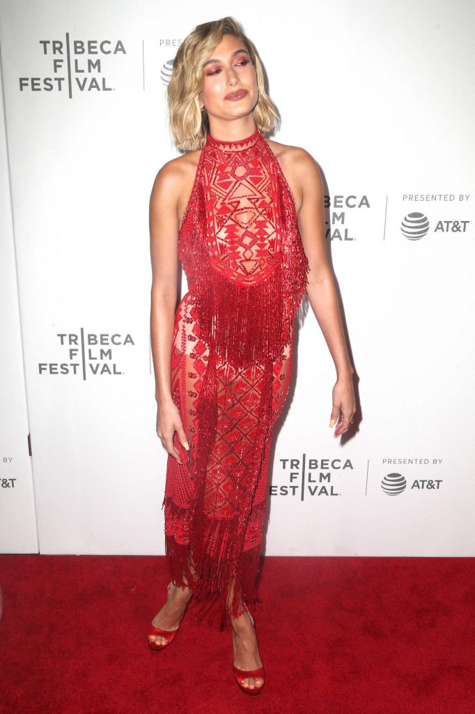 Hailey Baldwin at The American Meme Premiere During the Tribeca Film Festival in New York City-5