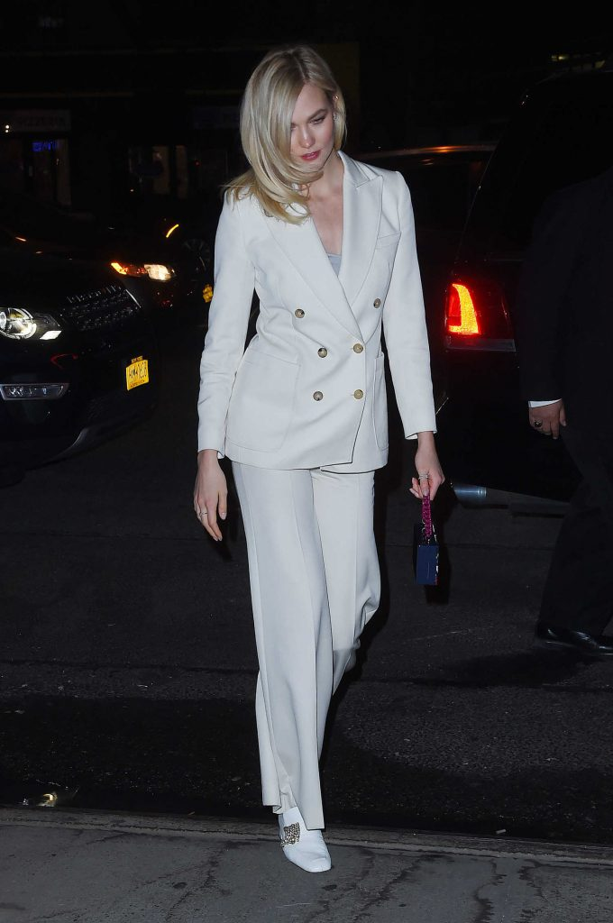 Karlie Kloss Leaves The Bowery Hotel in Tribeca NYC-1