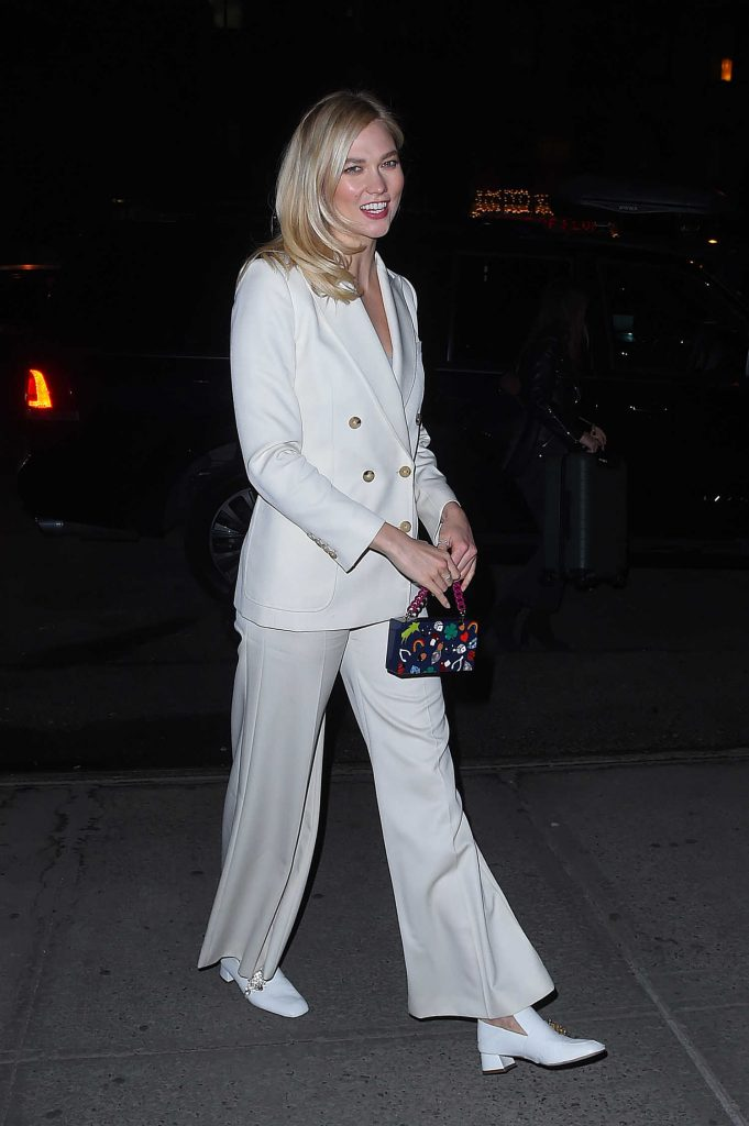 Karlie Kloss Leaves The Bowery Hotel in Tribeca NYC-2