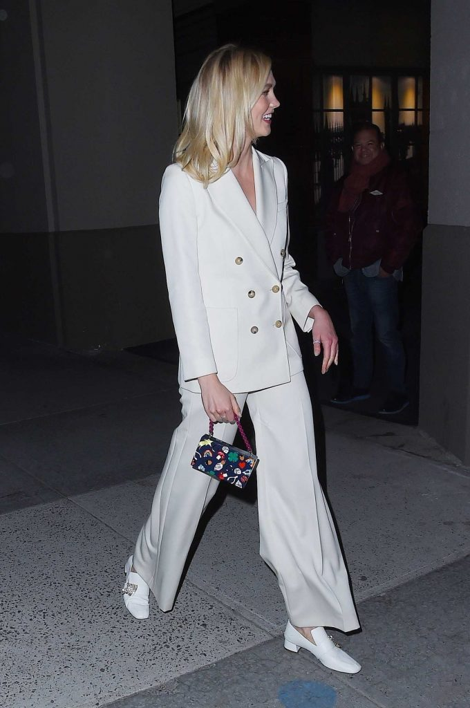 Karlie Kloss Leaves The Bowery Hotel in Tribeca NYC-4