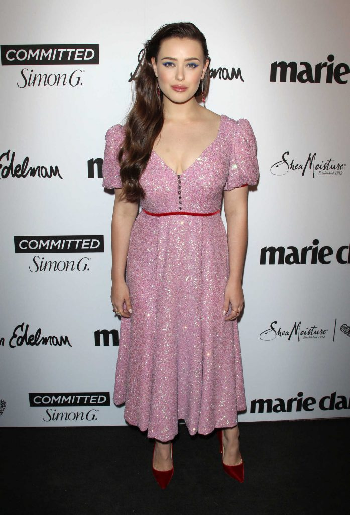 Katherine Langford at the 5th Annual Marie Claire Fresh Faces Party in Los Angeles-2