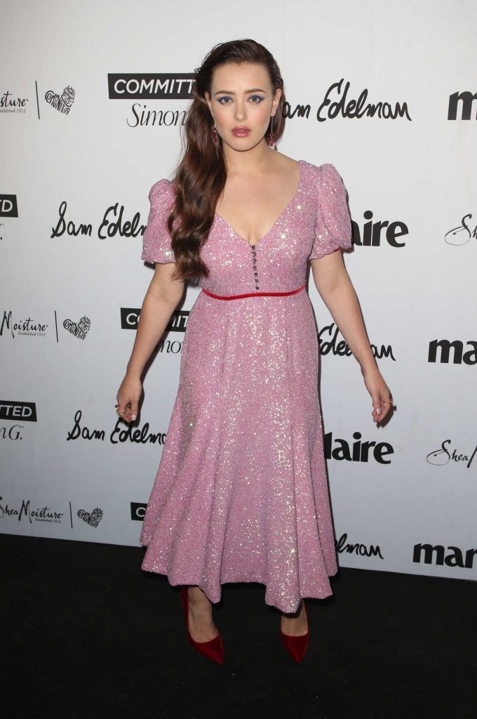 Katherine Langford at the 5th Annual Marie Claire Fresh Faces Party in Los Angeles-3