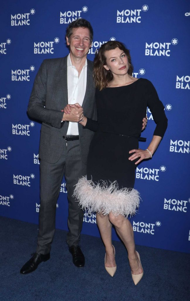 Milla Jovovich at the Montblanc Celebrates 75th Anniversary of Le Petit Prince in New York-4