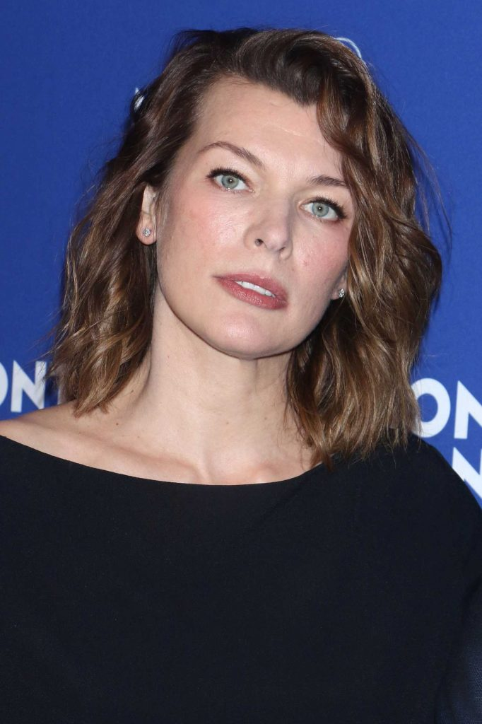 Milla Jovovich at the Montblanc Celebrates 75th Anniversary of Le Petit Prince in New York-5
