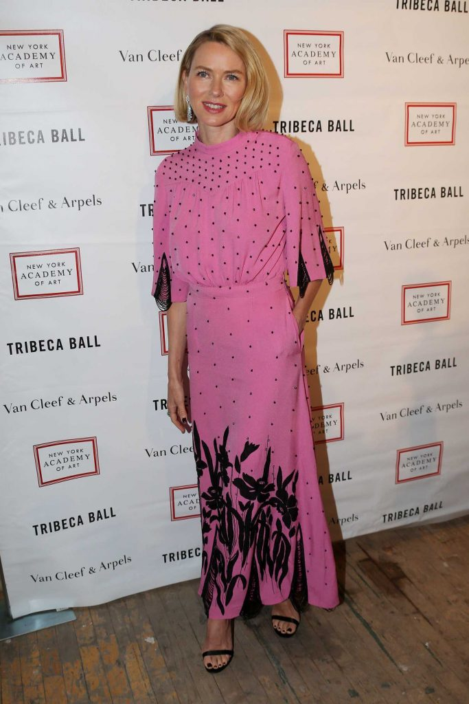 Naomi Watts at 2018 TriBeCa Ball at New York Academy of Art in New York City-2