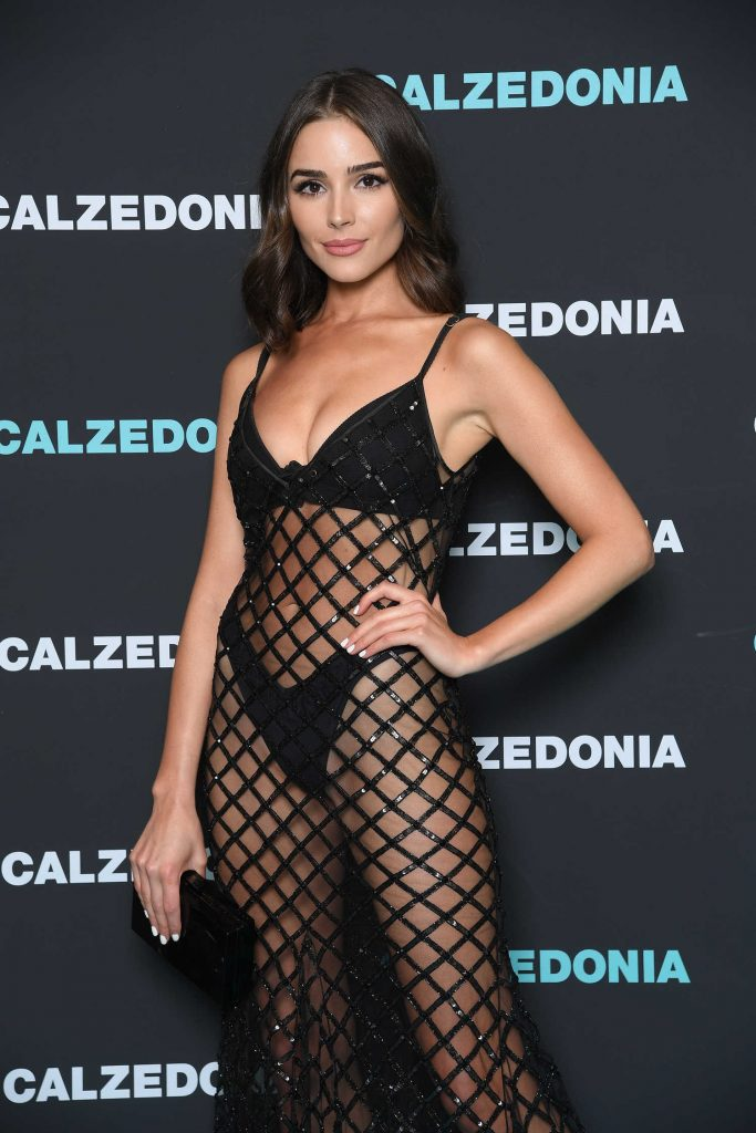 Olivia Culpo Attends the Calzedonia Summer Show in Verona, Italy-4