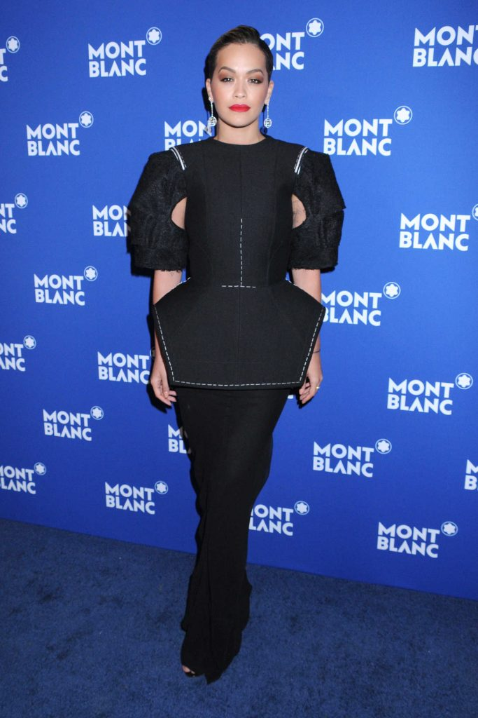 Rita Ora at the Montblanc Celebrates 75th Anniversary of Le Petit Prince in New York-1