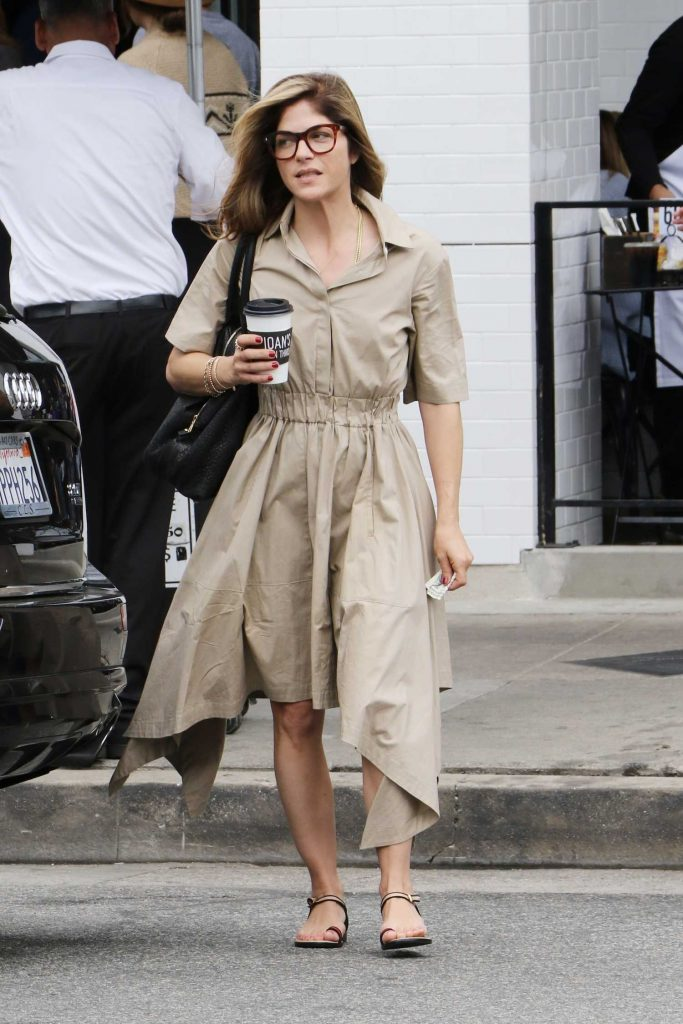 Selma Blair Leaves a Salon in Studio City-1