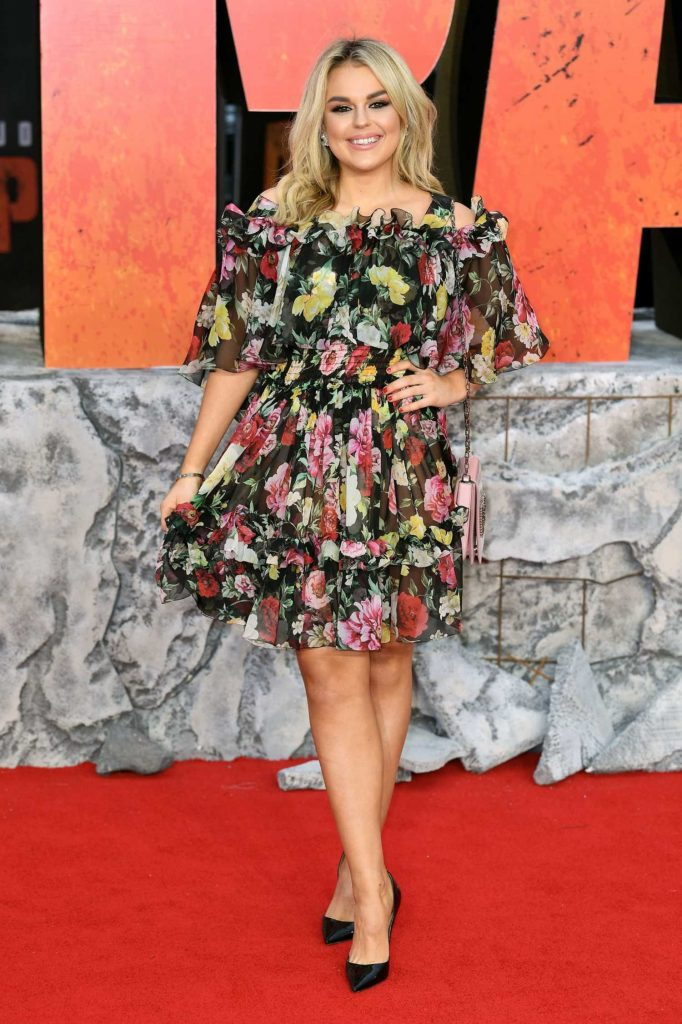Tallia Storm at the Rampage Premiere in London-1