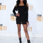 Teala Dunn at I Feel Pretty Premiere in Los Angeles