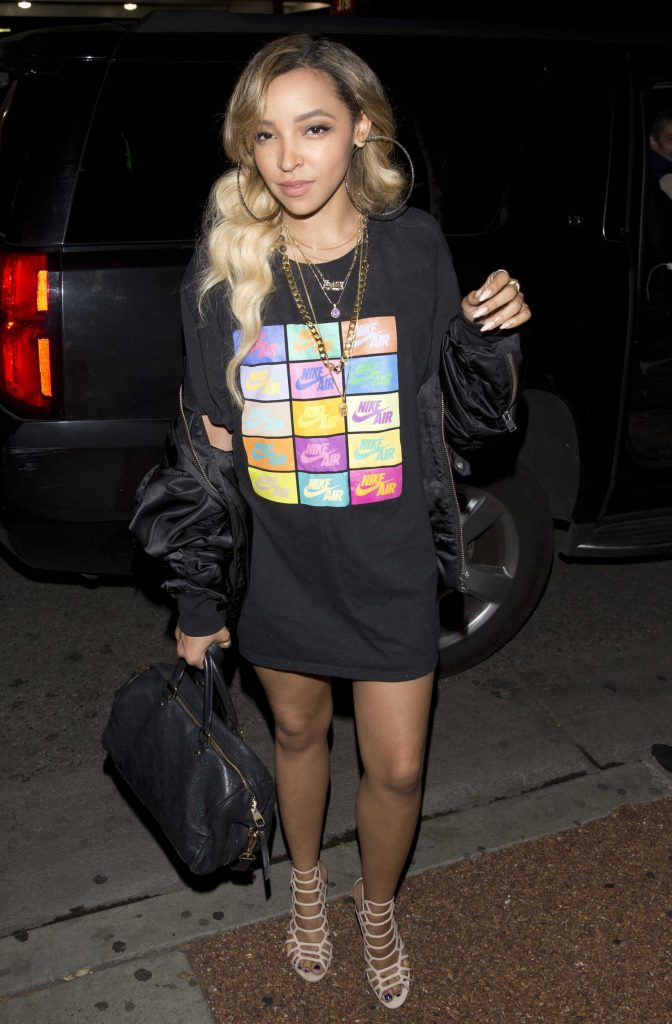 Tinashe Leaves Delilah Night Club in West Hollywood-1