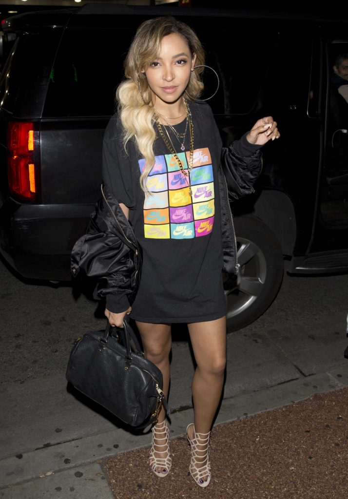 Tinashe Leaves Delilah Night Club in West Hollywood-2
