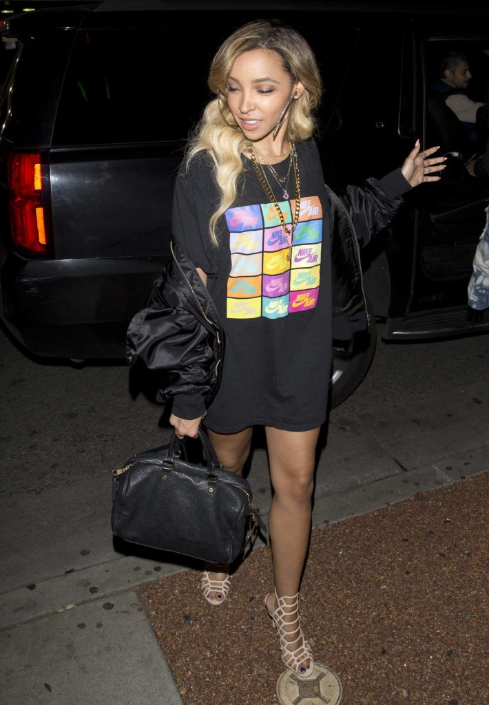 Tinashe Leaves Delilah Night Club in West Hollywood-3
