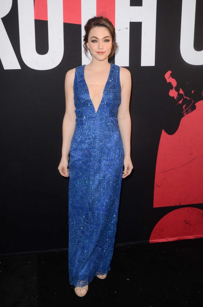 Violett Beane at the Truth or Dare Premiere in Hollywood-1