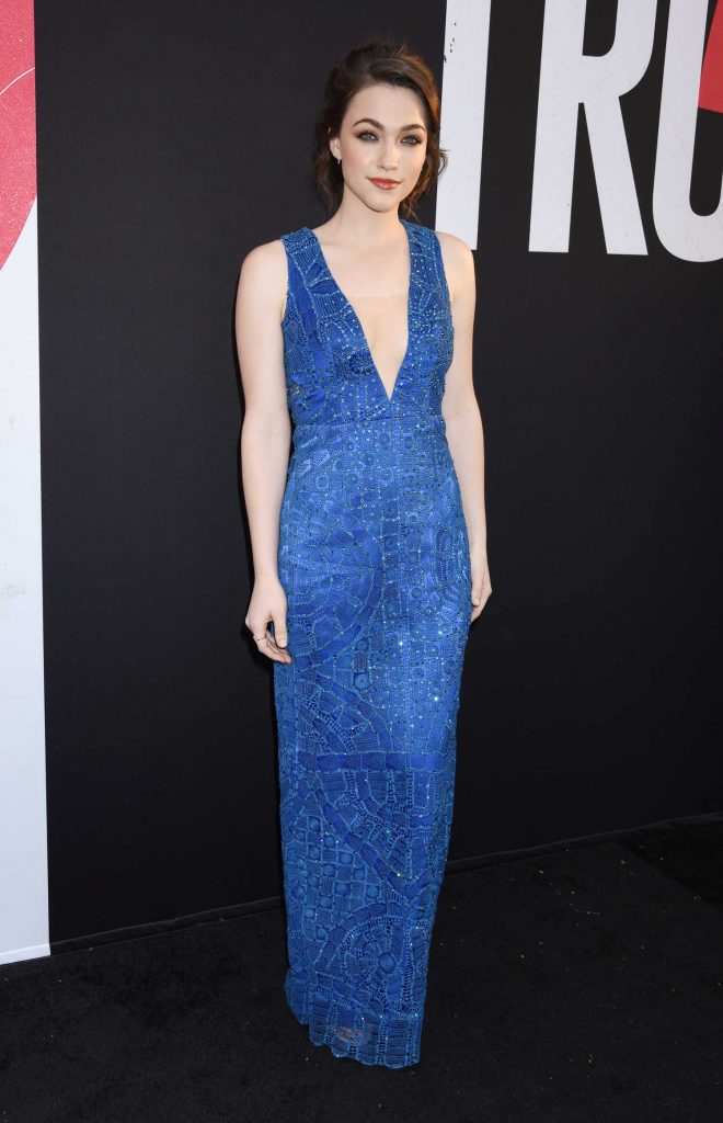 Violett Beane at the Truth or Dare Premiere in Hollywood-2