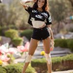 Winnie Harlow at the Ugg Collective Hosts Festival Kick-Off Brunch at Coachella Valley Music and Arts Festival in Indio