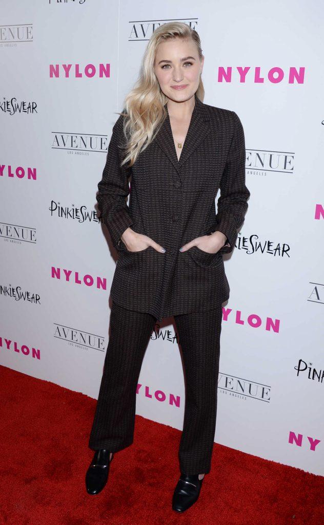 AJ Michalka at 2018 Nylon Young Hollywood Party in Hollywood-1