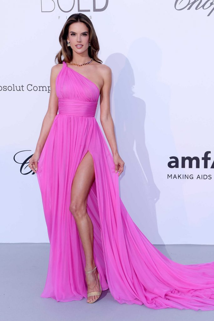 Alessandra Ambrosio at amfAR's 25th Cinema Against AIDS Gala During the 71st Cannes Film Festival in Cannes-1