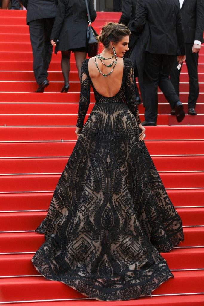 Alessandra Ambrosio at the Blackkklansman Premiere During the 71st Cannes Film Festival in Cannes-3
