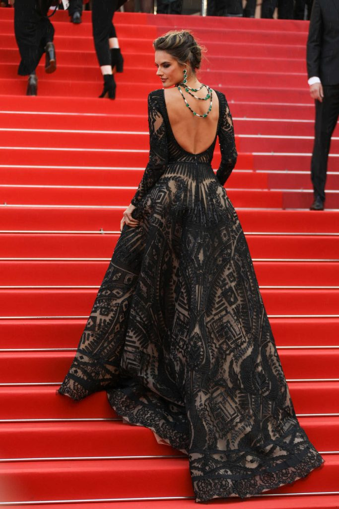Alessandra Ambrosio at the Blackkklansman Premiere During the 71st Cannes Film Festival in Cannes-4